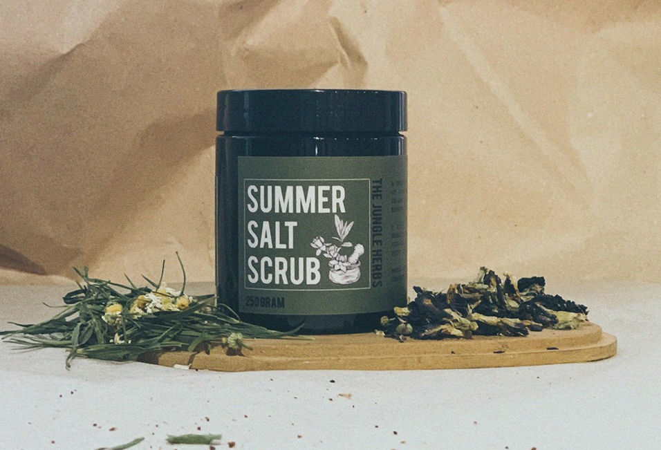 SUMMER SALT SCRUB (FOR BODY)